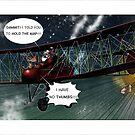 Santa's Sat Nav by Kieran Madden