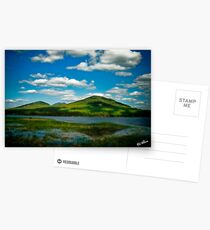 Spring in the Bigelow Mountains Postcards