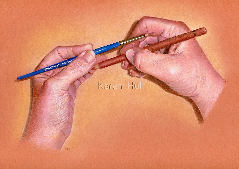 The Artist or The Subject? by Karen  Hull
