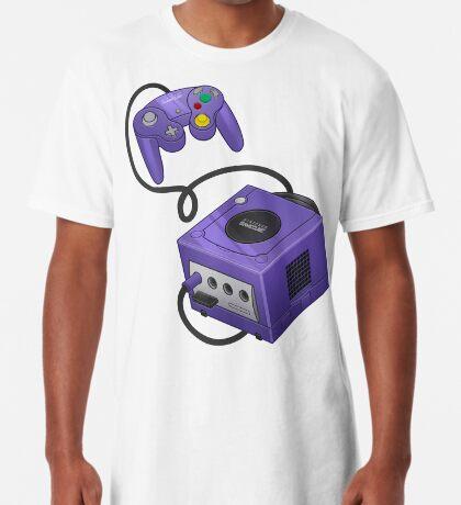 Purple GameCube Long T-Shirt
