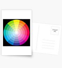 Cercle chromatique universel Cartes postales