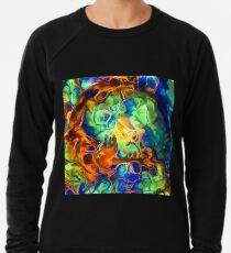 Colorful fluids Lightweight Sweatshirt