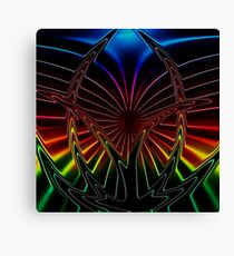 Eruption (Abstract) Canvas Print