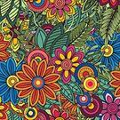 Sommerblumen von OkopipiDesign