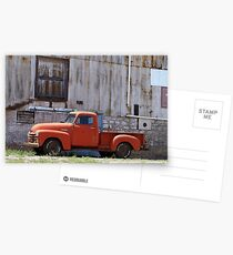 Old Chevy truck Postcards