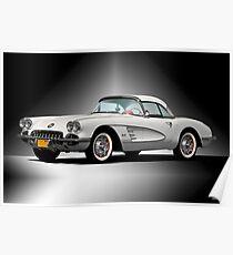 Chevrolet Corvette 'Studio One' von 1959 Poster