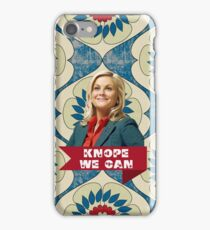 "Leslie Knope ""Knope We Can"" phone case iPhone Case/Skin"