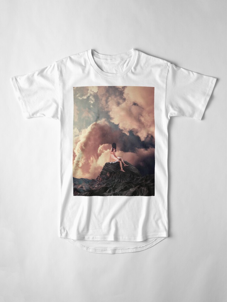 Alternate view of You came from the Clouds Long T-Shirt