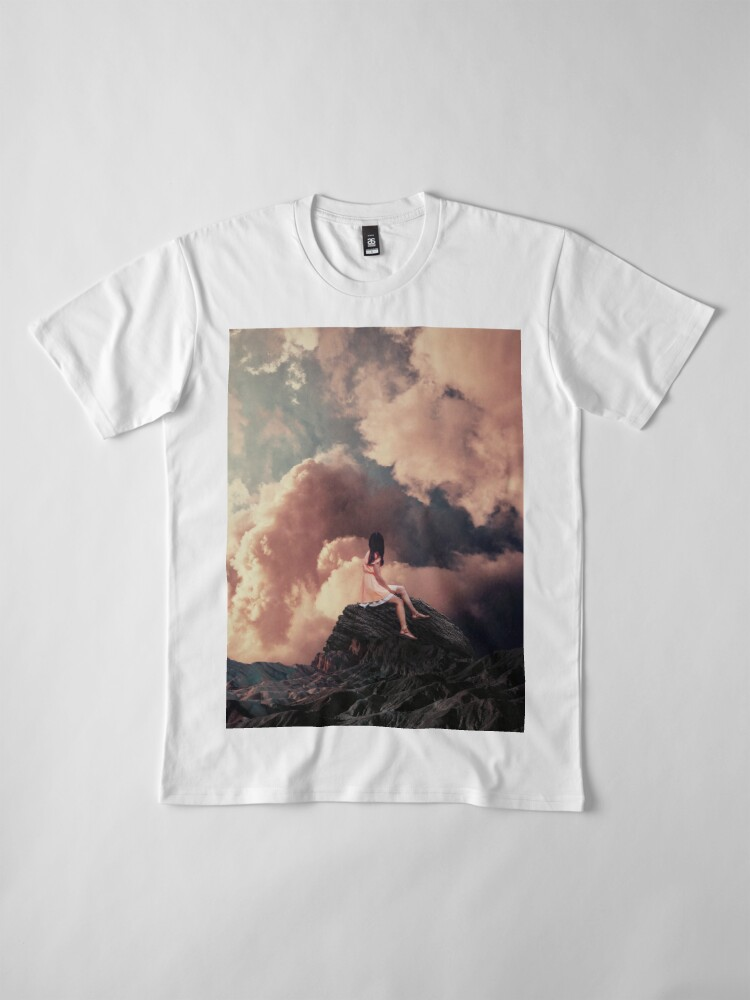 Alternate view of You came from the Clouds Premium T-Shirt
