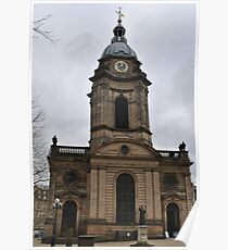 St. Philip's Cathedral Birmingham Poster