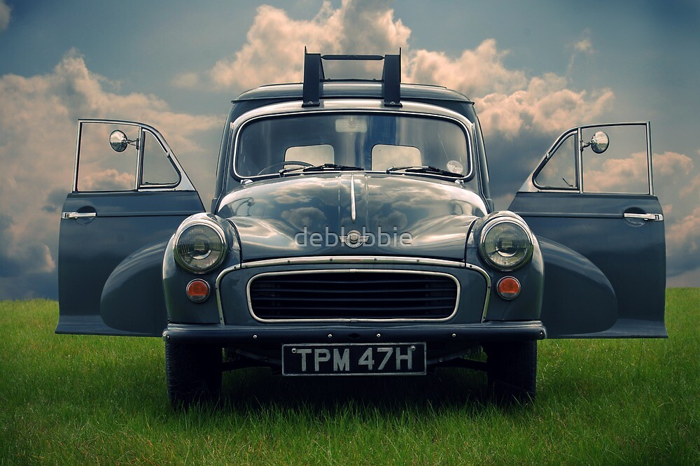 Morris Minor Van II by deblobbie