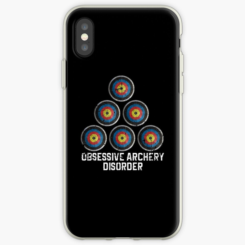 Archery hobby iPhone Case & Cover