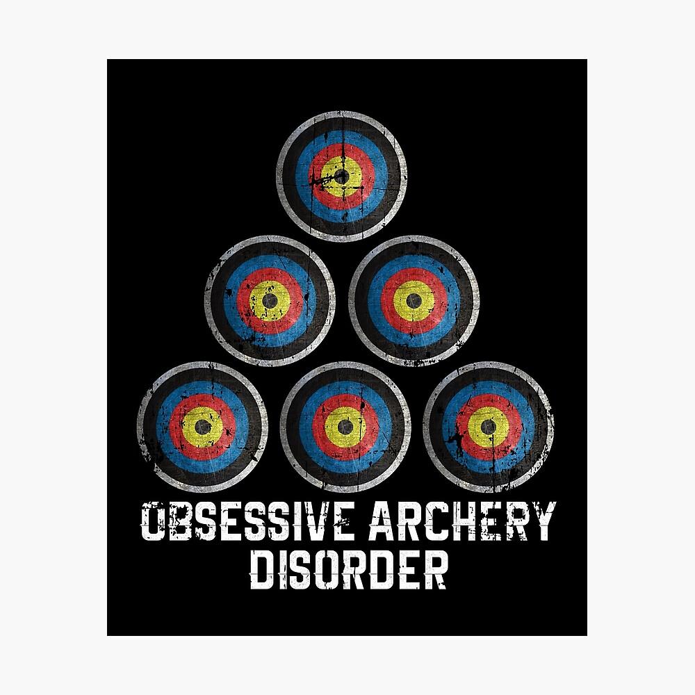 Archery hobby Photographic Print