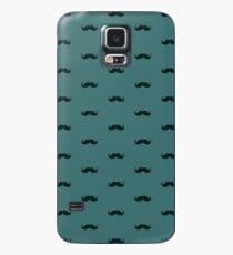Schnurrbart-Muster Hülle & Klebefolie für Samsung Galaxy