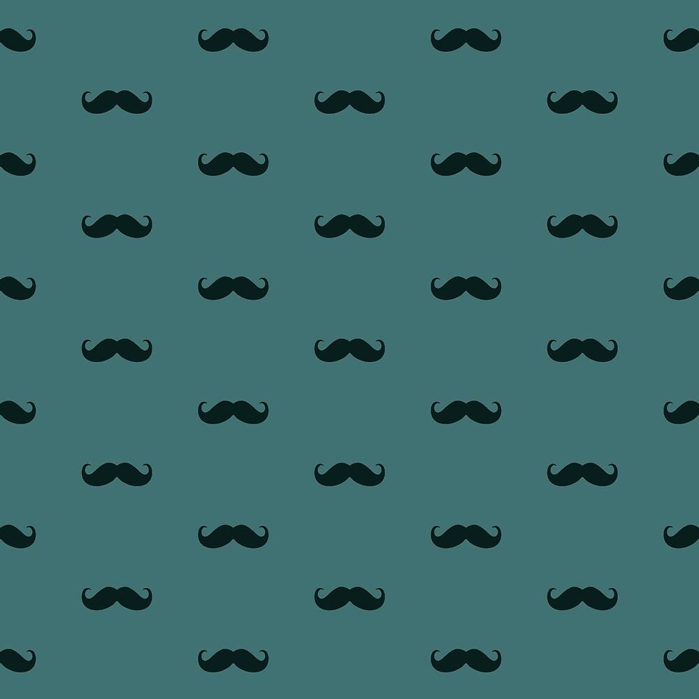 Schnurrbart-Muster von Mr Loco Motif