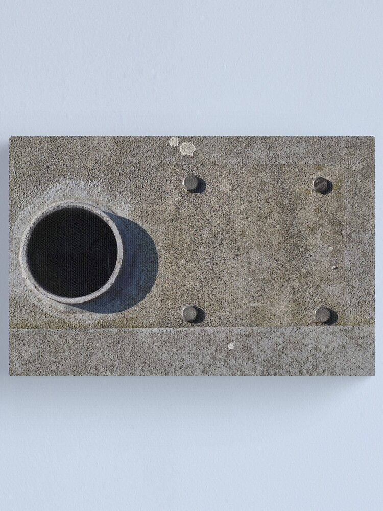 Alternate view of Hole and bolts Canvas Print