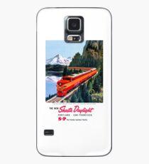 Funda/vinilo para Samsung Galaxy Póster vintage Shasta Daylight Portland San Francisco