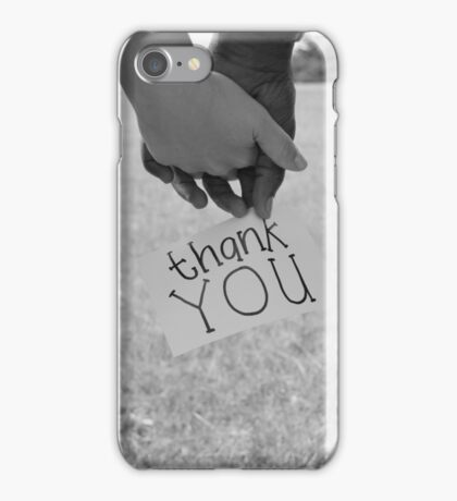 .... for loving me iPhone Case/Skin
