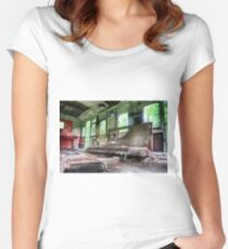 Railway Graveyard 05 Fitted Scoop T-Shirt