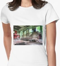 Railway Graveyard 05 Fitted T-Shirt