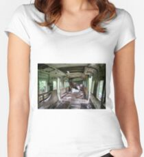 Railway Graveyard 06 Fitted Scoop T-Shirt