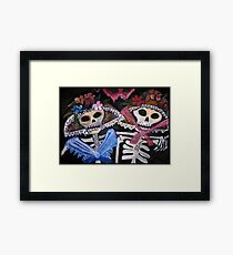 Muertos Framed Print
