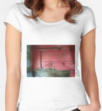 Railway Graveyard 07 (There is Beauty in Decay) Fitted Scoop T-Shirt