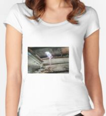 Railway Graveyard 08 Fitted Scoop T-Shirt