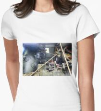 Railway Graveyard 10 Fitted T-Shirt