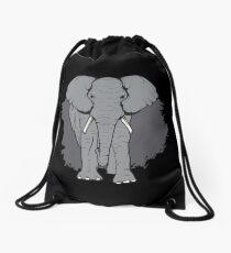 African Elephant Animal Welfare Supporter Gift  Drawstring Bag