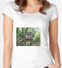 Railway Graveyard 14 Fitted Scoop T-Shirt