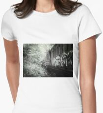 Railway Graveyard 15 Fitted T-Shirt