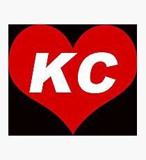 LOVE KC  Photographic Print