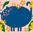 Garden Cat by Adam Regester