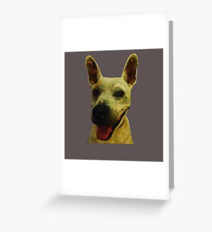 Smiling Jeff Greeting Card
