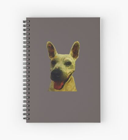 Smiling Jeff Spiral Notebook