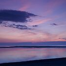 Sunset over the Moray firth by donnnnnny