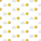 Sonne und Wolken von DigiArtyst