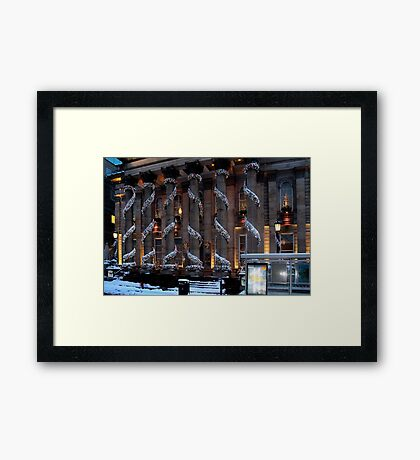 Peter Pan at The Dome Framed Print