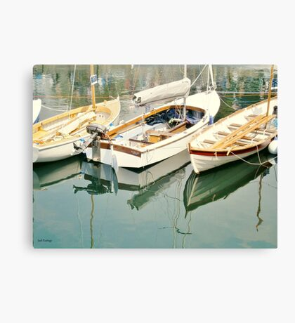 Three Little Boats Canvas Print