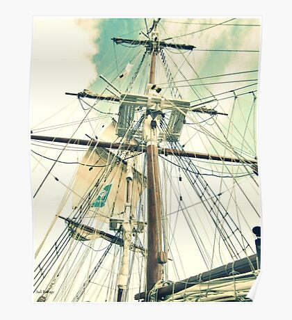 Through Her Masts and Spars Poster