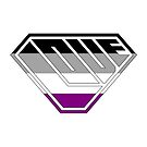 Love SuperEmpowered (Black, Grey, White & Purple) by Carbon-Fibre Media