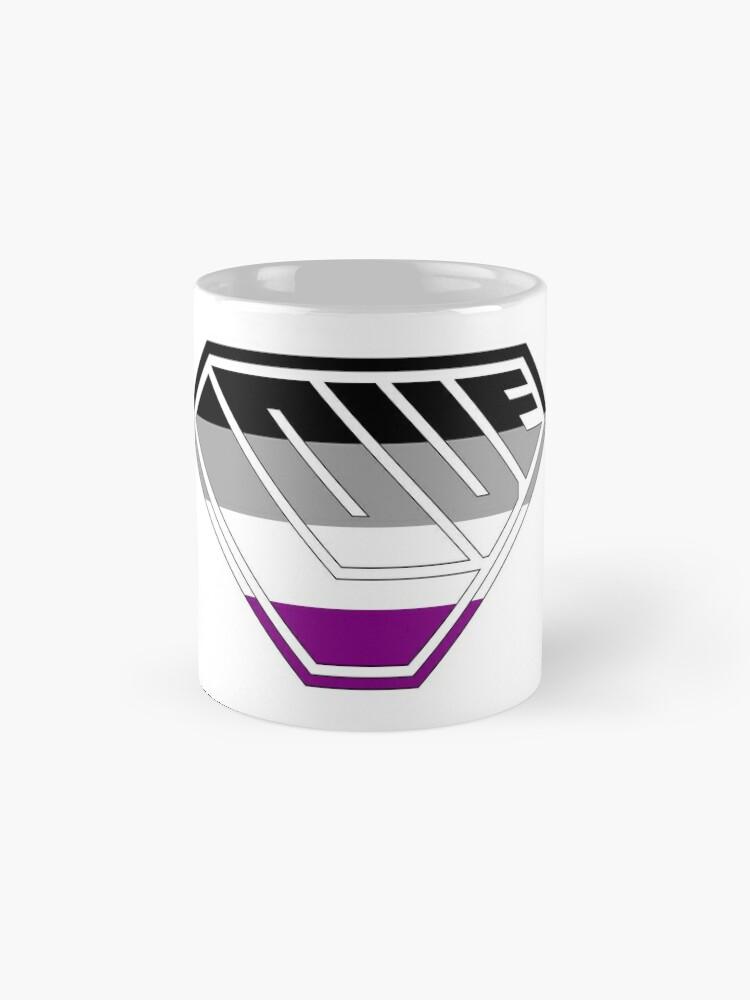 Alternate view of Love SuperEmpowered (Black, Grey, White & Purple) Classic Mug
