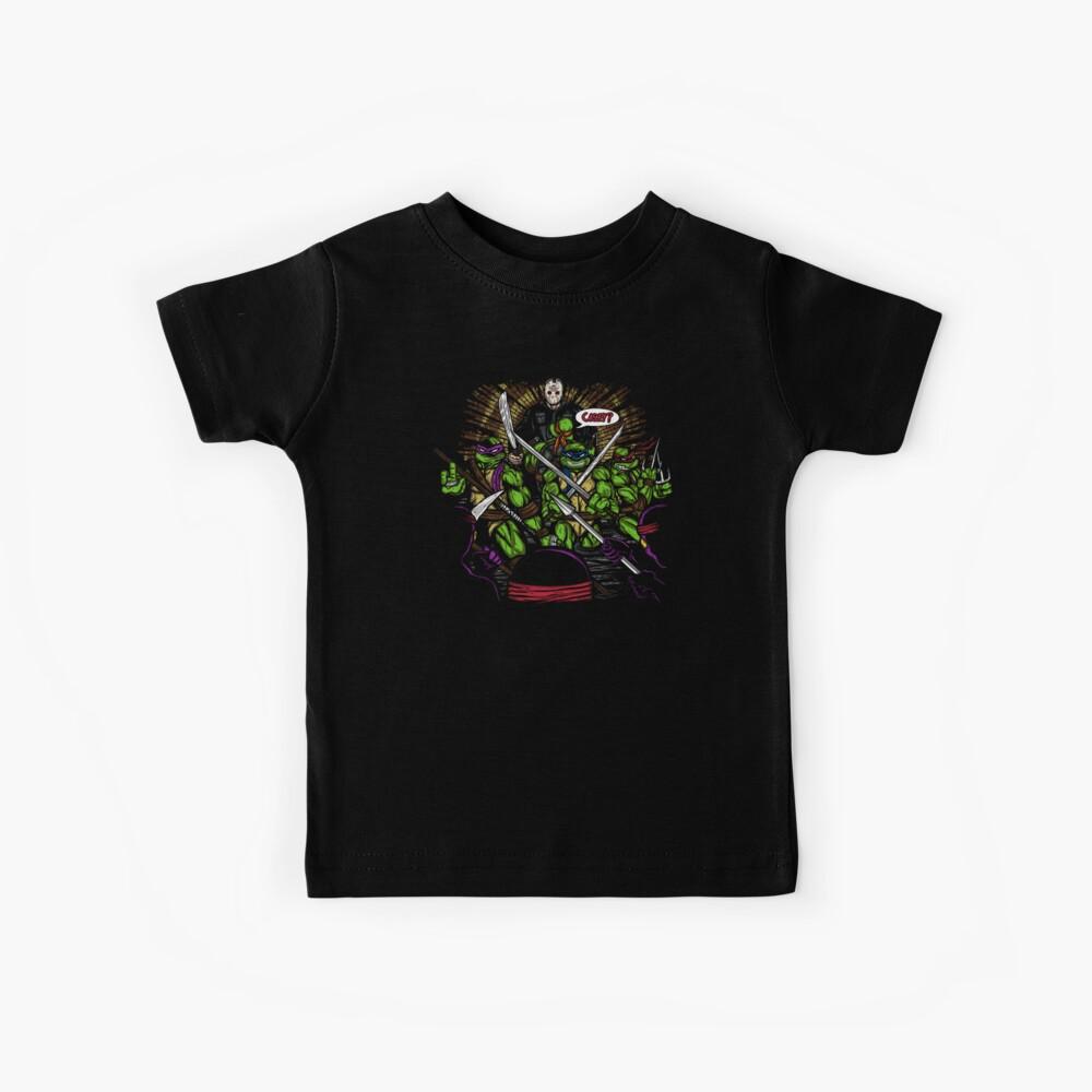 Jason nimmt die Schildkröten Kinder T-Shirt