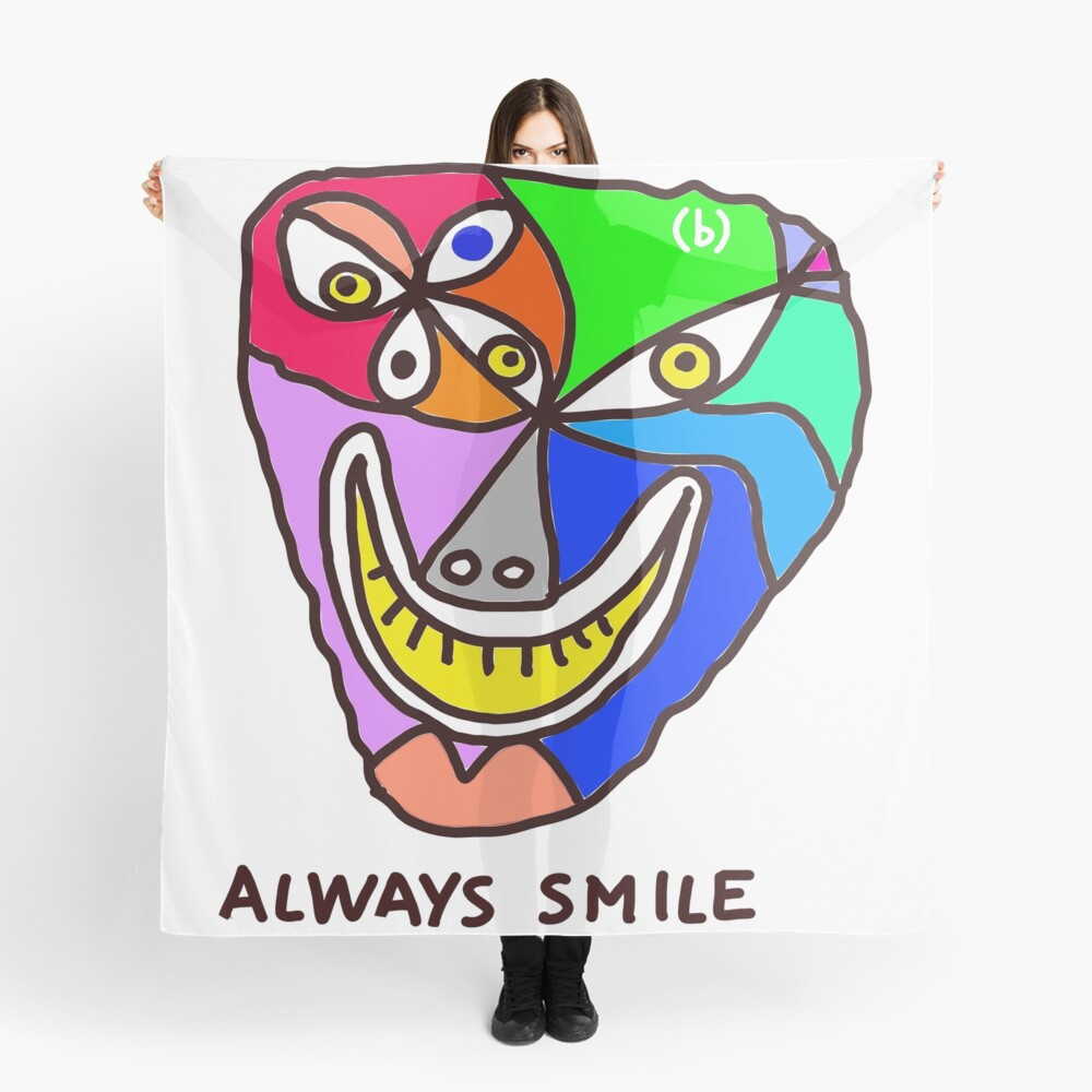 Always Smile (monster) Scarf