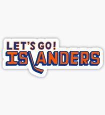 Let's go Islanders! Sticker
