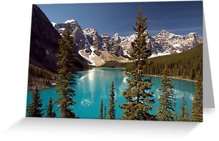 Lake Louise 2 Golden Images by Sean Jansen