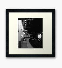 Location F Framed Print