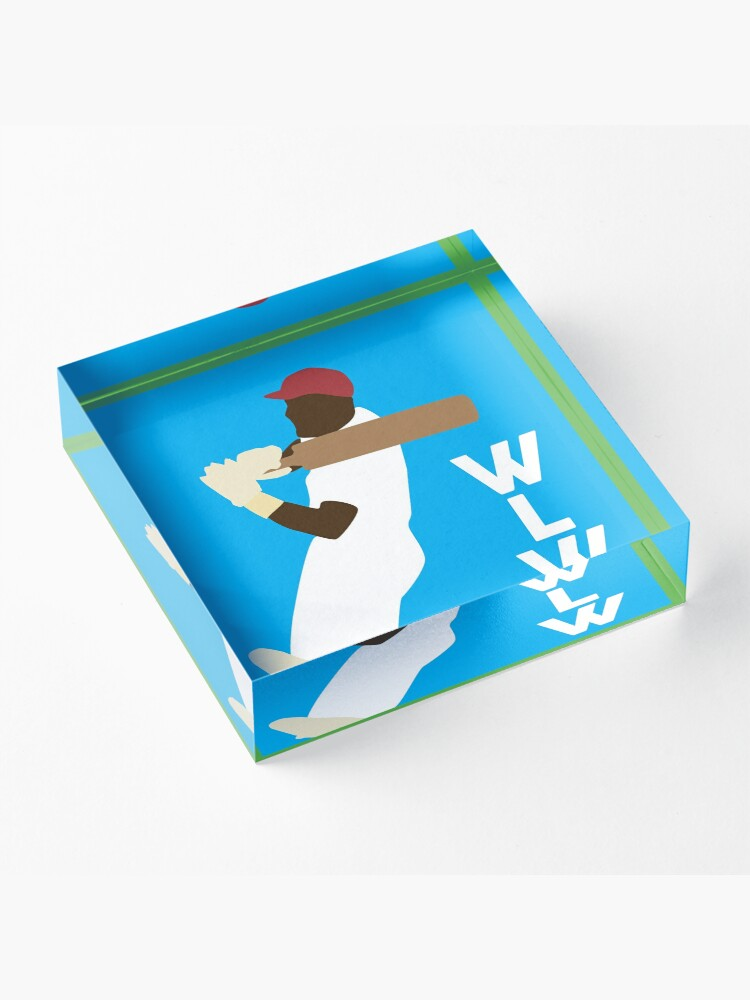Alternate view of WLW logo small Acrylic Block
