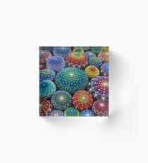 Juwel Drop Mandala Stone Collection # 1 Acrylblock